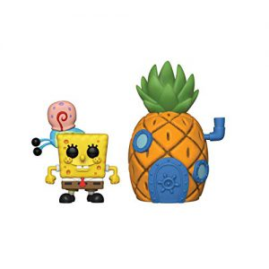 Spongebob Squarepants: Spongebob & Pineapple Pop Town Figure
