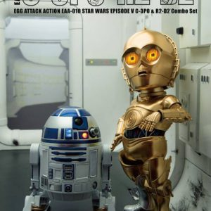 Star Wars: C-3PO & R2-D2 EAA-010 Combo Pack Egg Attack Action Figure