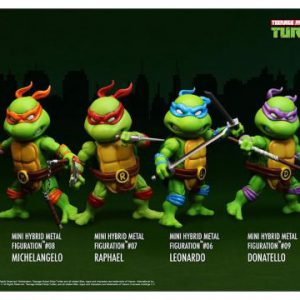 Teenage Mutant Ninja Turtles: HMF Mini Action Figures (4-Pack)