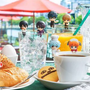 Gintama: Ochatomo Yorozuya Cafe Mini Trading Figures (Display of 8)