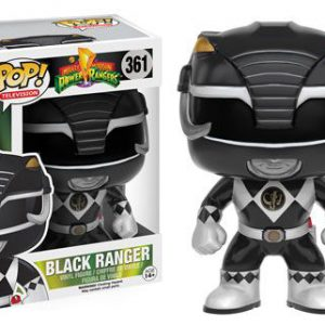 Power Rangers: Black Ranger POP Vinyl Figure