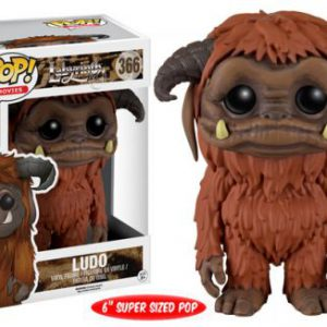 Labyrinth: Ludo Over-Size POP 6-Inch Vinyl Figure