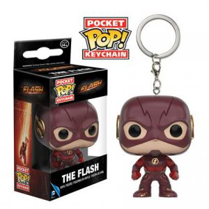 Key Chain: Flash TV - Flash Pocket Pop Vinyl