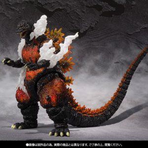 Godzilla vs. Destoroyah: Godzilla (1995) Ultimate Burning Ver. S.H.MonsterArts Action Figure