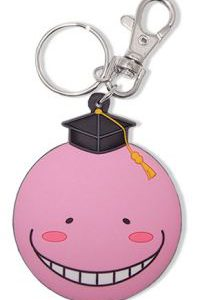 Key Chain: Assassination Classroom - Koro Sensei Pink