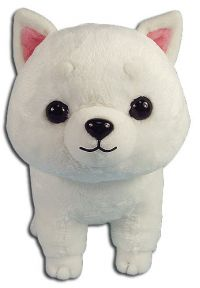 Great Eastern: White Shiba 8'' Plush