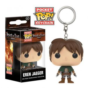 Key Chain: Attack on Titan - Eren Jaeger POP Vinyl