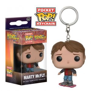Key Chain: Back to the Future - Marty on Hoverboard POP Vinyl