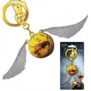 Key Chain: Harry Potter - Snitch Color Pewter
