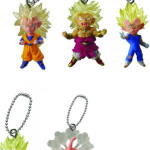 Key Chain: Dragon Ball Super - UDM Mascot BMB Figurines (Display of 18)