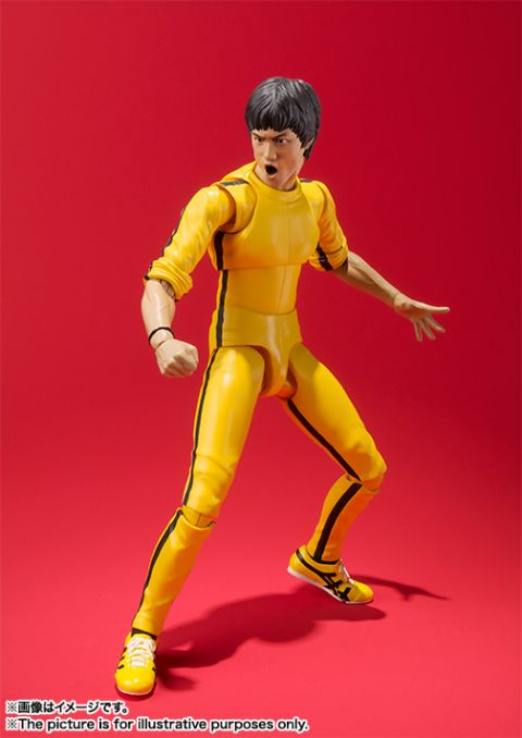Bruce Lee: Bruce Lee (Yellow Jumpsuit) S.H. Figuarts Action Figure (Game of Death)