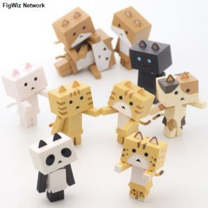 Nyanboard: Collection 3 Mini Trading Figures (Display of 10)