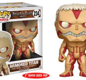 Attack on Titan: Armored Titan 6'' POP Vinyl Figure