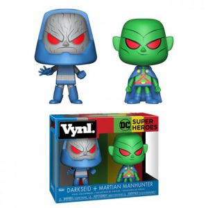 DC Comics: Darkseid & Martian Manhunter Vynl Figure (Set of 2)