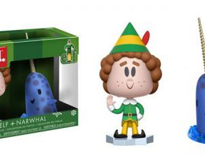 Elf Movie: Buddy & Narwhal Vynl Figures (Set of 2)