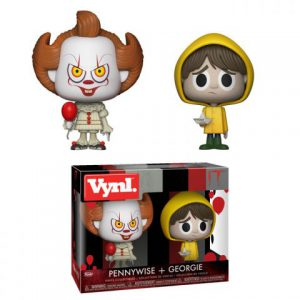 Horror Movies: It - Pennywise & Georgie Vynl Figure