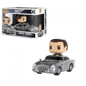 James Bond: James Bond in Aston Martin Pop! Rides Vinyl Figure