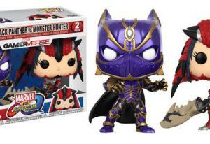 Marvel Vs. Capcom Infinite: Black Panther Vs Monster Hunter POP Vinyl Figures (2-Pack)