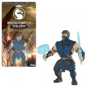 Mortal Kombat X: Sub-Zero Savage World Action Figure