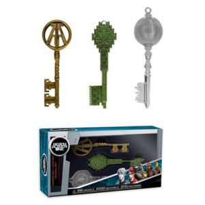 Ready Player One: Keys (Green Clear Copper) Figures Assortment (Set of 3)