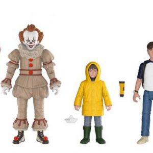 Stephen King's It: Pennywise Georgie Bill Action Figure Assortment (Set of 3)