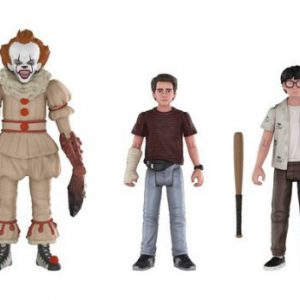 Stephen King's It: Pennywise Richie Eddie Action Figure Assortment (Set of 3)