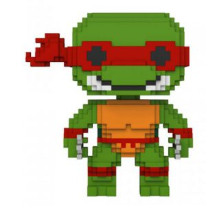 Teenage Mutant Ninja Turtle: Raphael 8-Bit Pop Vinyl Figure