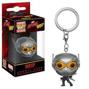 Key Chain: Ant-Man and The Wasp - Wasp Pocket Pop Vinyl