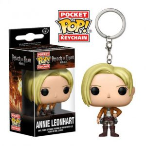 Key Chain: Attack on Titan - Annie Leonhart Pocket Pop Vinyl