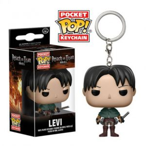 Key Chain: Attack on Titan - Levi Pocket Pop Vinyl