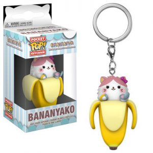 Key Chain: Bananya - Bananyako Pocket Pop Vinyl