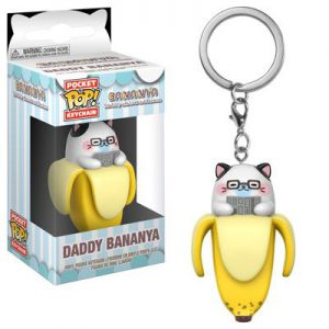 Key Chain: Bananya - Daddy Bananya Pocket Pop Vinyl