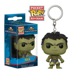 Key Chain: Thor Ragnarok - Casual Hulk Pocket Pop Vinyl