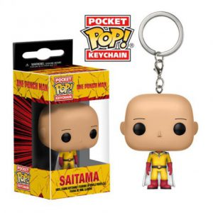 Key Chain: One-Punch Man - Saitama Pocket Pop Vinyl
