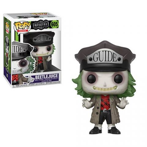 Beetlejuice: Beetlejuice (Tour Guide) Pop Vinyl Figure