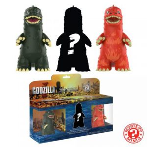 Godzilla: Mystery Mini Figure (3-Pack)