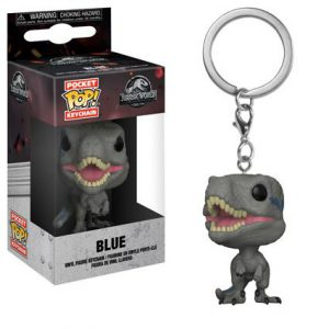 Key Chain: Jurassic World - Blue Pocket Pop Vinyl (Fallen Kingdom)