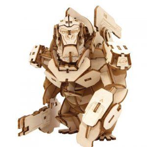 Overwatch: Winston 3D Wooden Model Figure w/ Poster