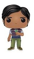 Big Bang Theory: Raj w/ Drink Pop Vinyl Figure
