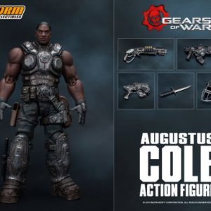 Gears of War: Augustus (Cole Train) Cole 1/12 Scale Action Figure