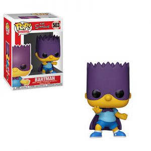 Simpsons: Bart (Bartman) Pop Vinyl Figure