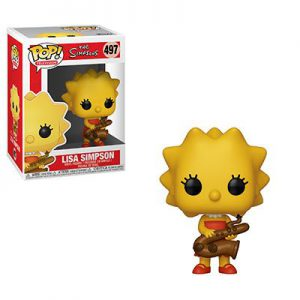 Simpsons: Lisa (Saxophone) Pop Vinyl Figure