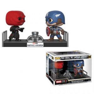 Captain America First Avengers: Red Skull & Captain America Movie Moment Pop Vinyl Figure