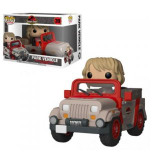 Jurassic Park: Ellie Sattler In Jeep Pop Rides Vinyl Figure