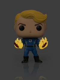 Fantastic Four: Human Torch (Suited) Pop Figure (Specialty Series)