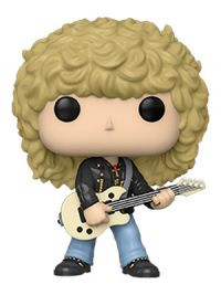 Pop Rocks: Def Leppard - Rick Savage Pop Figure