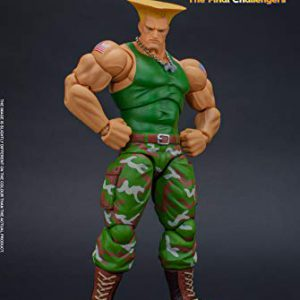 Guile Street Fighter, Storm Collectibles 1:12 Action Figure