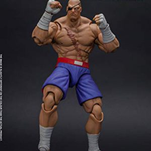 Sagat Street Fighter, Storm Collectibles 1:12 Action Figure