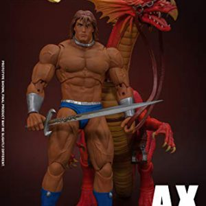 Ax Battler & Red Dragon Golden Axe, Storm Collectibles 1/12 Action Figure