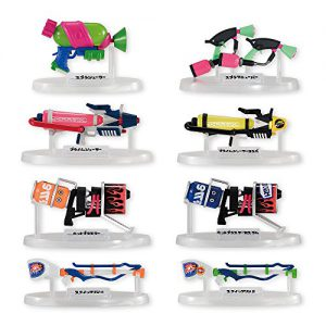 Splatoon 2 Weapons Collection Vol. 1 Splatoon 2 (Box/8), Bandai Weapons Collection